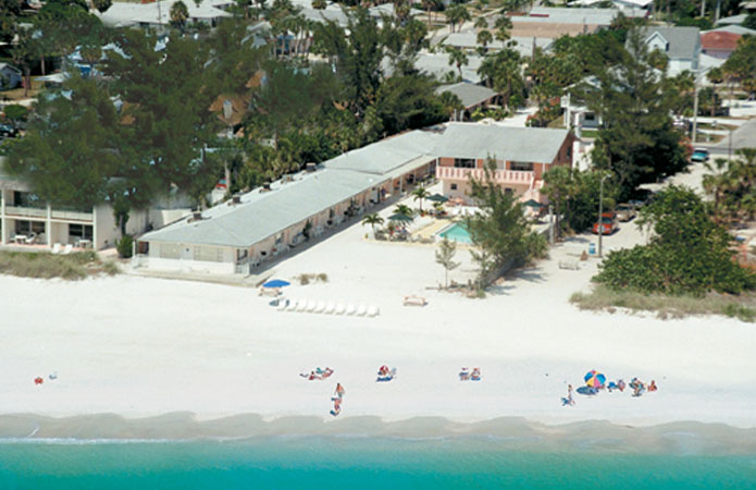 Anna Maria Island Aerial Of White Sands