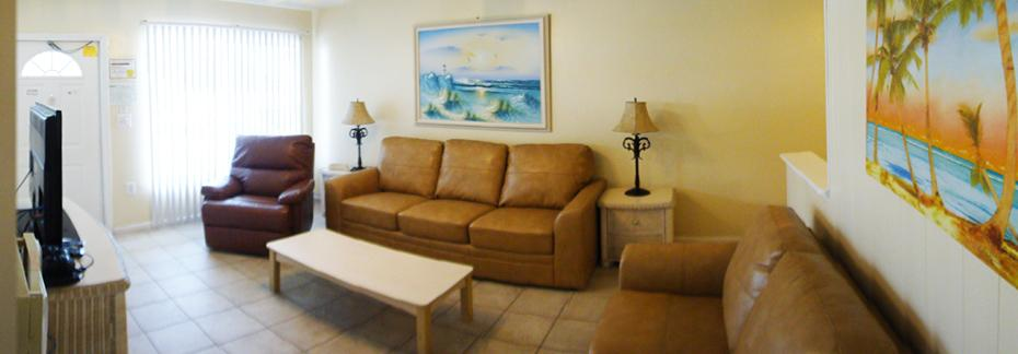 Rooms 3, 4 and 5 - Pool Front, One Bedroom Apartment