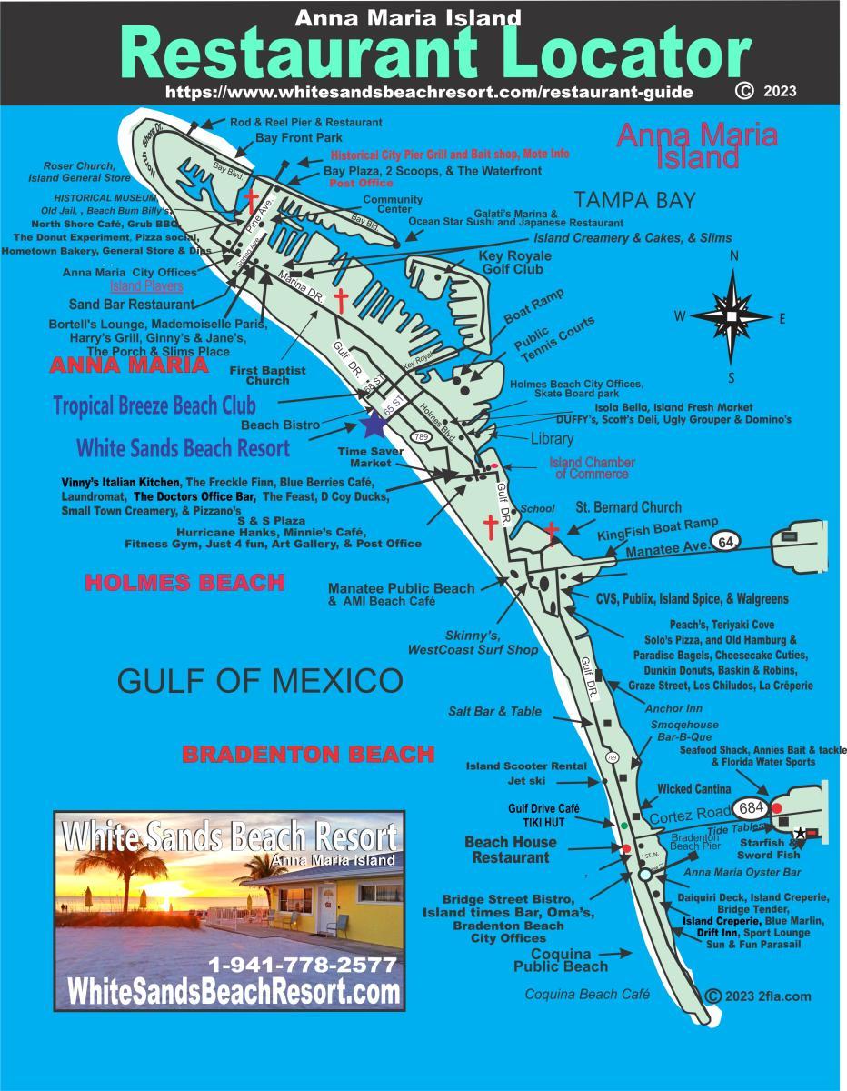 Restaurant Guide Tropical Breeze Beach Club