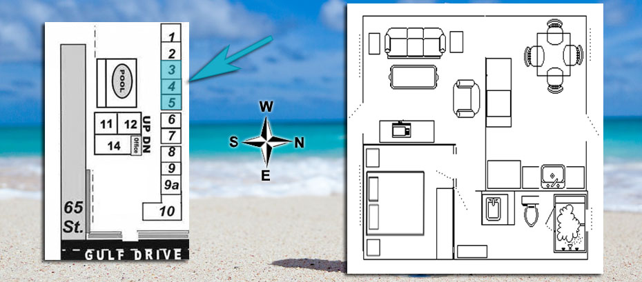 Room 3 location and layout