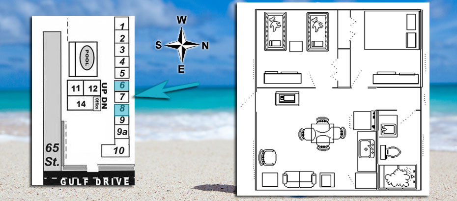 Room 6 location and layout