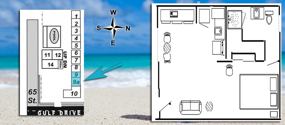 layout and location for units 9, 9a