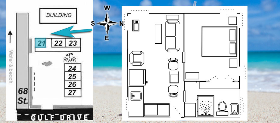 layout of room 21