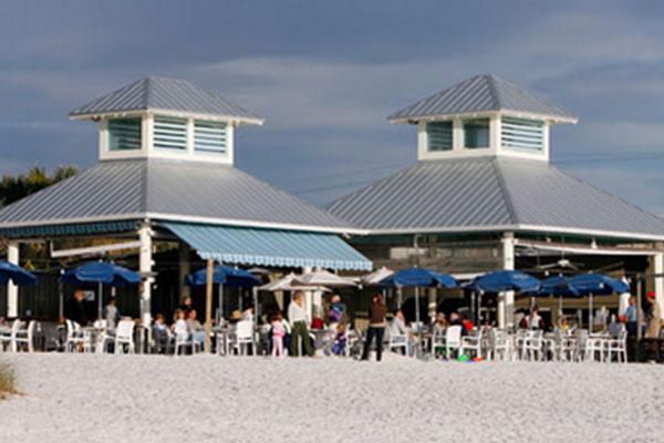Sand Bar restaurant outside entrance