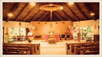 St bernard catholic church tropical breeze beach club for Acqua aveda salon